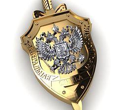 3D printable model badge FSB
