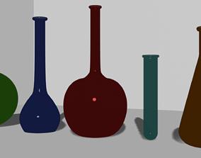 flasks 3D model