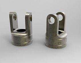 3D Giunto cardanico joint