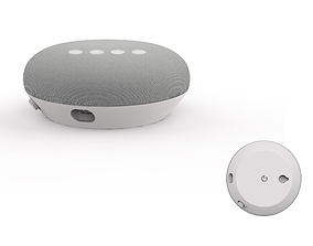 Google home mini white speaker 3D print model