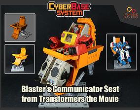 Blasters Communicator Seat from 3D print model 2