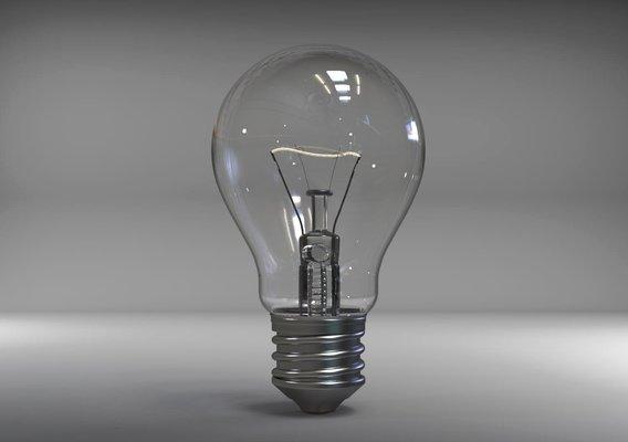 3D Realistic Bulb