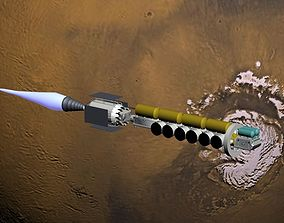 3D Mars-ship