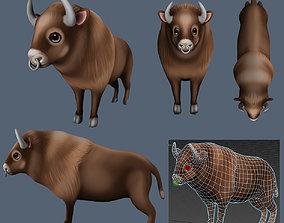 love buffalo 3D model