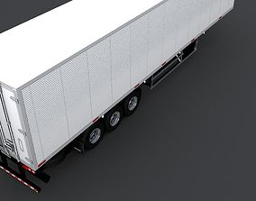 Randon 3 Axles Refrigerated Truck Trailer 3D