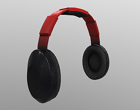 loudspeaker 3D model realtime Headphone