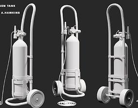 3D asset Oxygen tank