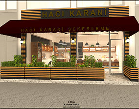 3D model turkish delight store