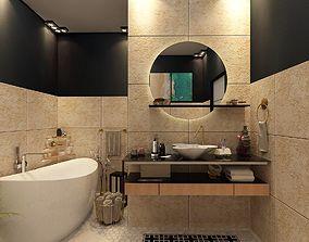shower 3D model Bathroom Design