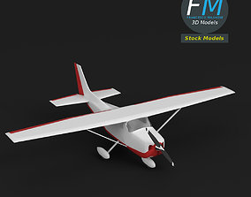 Toy personal use airplane 3D model
