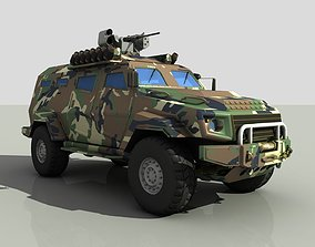 3D model Turkish armored car zpt Cobra