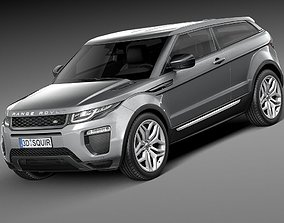 Range Rover Evoque 3-door 2016 3D model