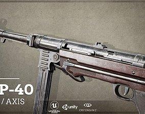 World War II Axis - First Person Asset 3D model 1