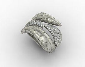 ring like snake 3D print model
