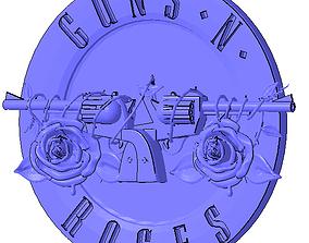 Guns n Roses Logo 3D printable model
