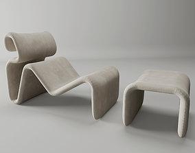 3D Etcetera Lounge Chair by Jan Ekselius