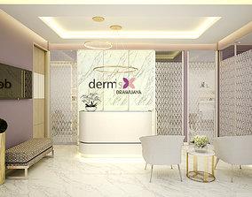3D model Beauty Clinic Dermis Brawijaya
