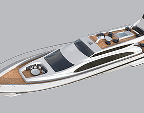 3D model realtime Yacht 1