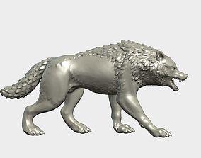 3D print model Wolf Figurine