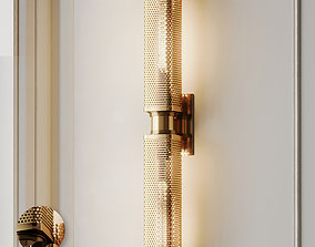 3D Oxon Hill 2-Light Wall Sconce 3 Colors
