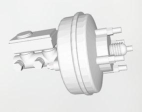 3D print model Brake booster