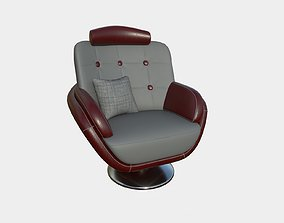 3D model Armchair 09