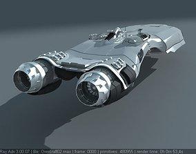 3D model Hovercraft