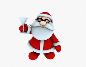 New cool Santa Claus for beautiful 3d print