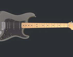 3D model game Fender Guitar