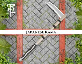 3D model Ancient Japanese Kama