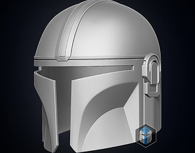 armor 3D printable model The Mandalorian Helmet