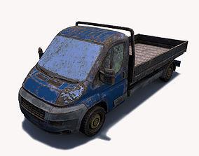 3D Abandoned Truck 01