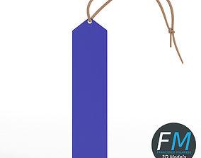 Peaked top ribbon award 3D