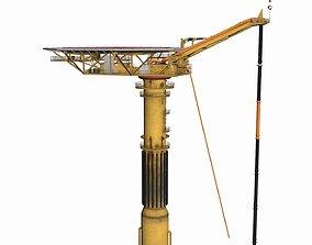 Oil Rig -Gullfaks Loading Buoy 3D asset low-poly