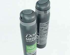 Dove Spray 3D asset