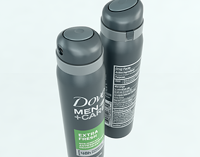 Dove Spray 3D asset