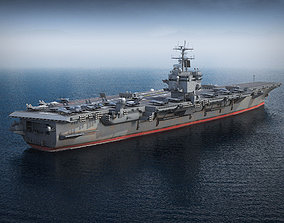 USS Enterprise CVN-65 Carrier 3D model