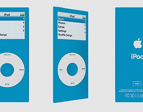 3D Ipod Nano 2nd Generation