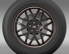 Dodge Vin Diesel Car wheel 3D model