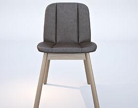 Billiani Hippy Wood chair 3D model