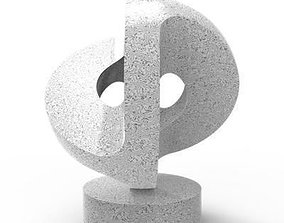 3D printable model CONSTRUCTION sculpture replica