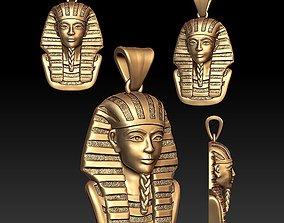 Pharaoh pendant 3D printable model