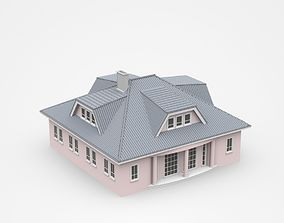Two-storey Light House 3D model