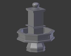 3D Cesme Fountain Model