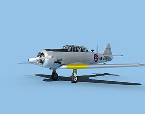 3D North American SNJ USN V03