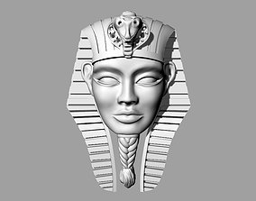 Necklace Toutankhamon Pharaon Sphinx 3D printable model