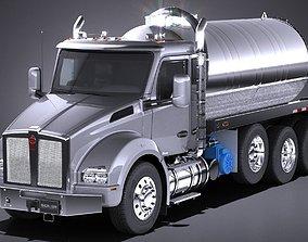 Kenworth T880 2017 Tank Truck 3D