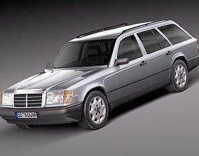 3D Mercedes-Benz E class W124 Kombi