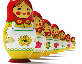 Russian dolls 3D