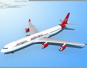 Falcon3D A340-600 Virgin Atlantic rigged
